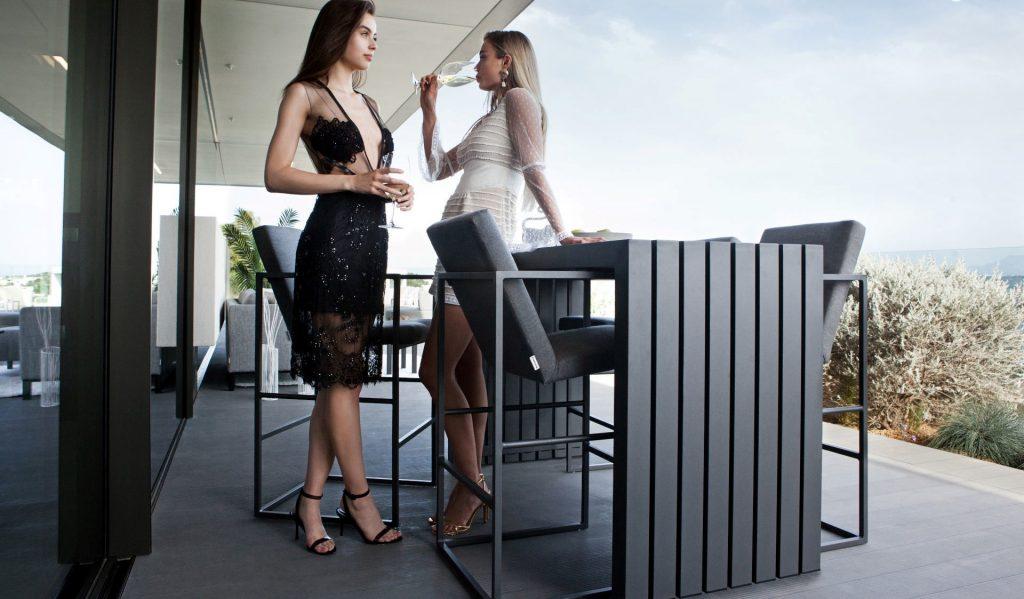 divano lounge OUTFLEXX rise bar cali